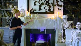 How to Decorate a Halloween Mantel | Grandin Road