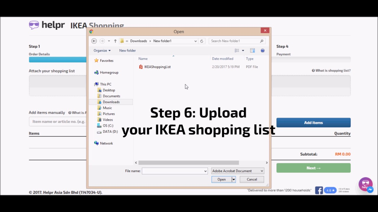 How To Order Ikea Online