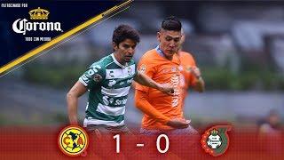 Resumen: América 1 - 0 Santos | Clausura 2019 - J16 | Presentado por Corona
