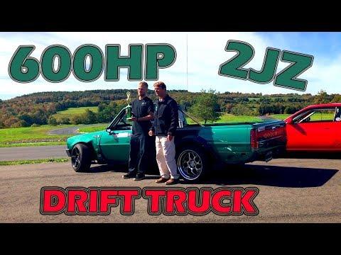 2JZ Mini Truck Drifting Pineview Run III 2019