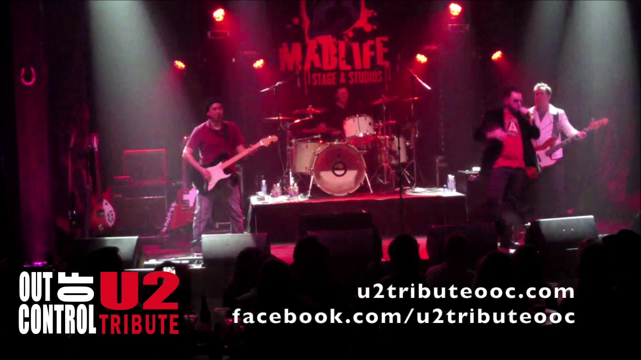 Out of Control - A U2 tribute band - Where the streets have no name