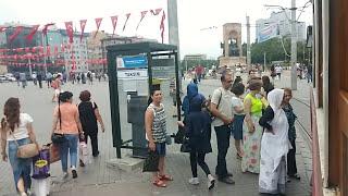 Tünel Taksim tramvay yolculuğu ve Ezan sesi