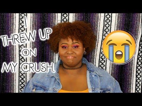 I Threw Up On My Crush  STORYTIME
