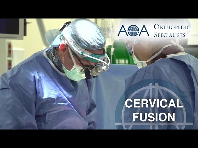 AOA Orthopedic Specialists - Dr. Michael Ramsey - Cervical Fusion