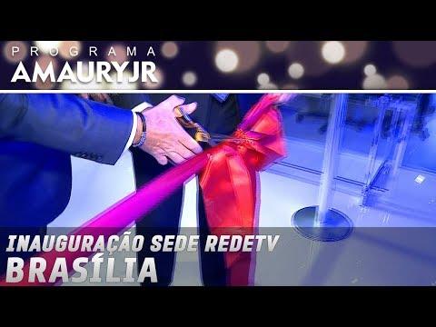 Inauguração sede RedeTV - Brasília