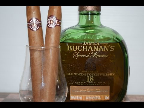 Cigar Pairing 47: (Cuban) Monte Cristo No. 2 and Buchanan's 18 Year Old
