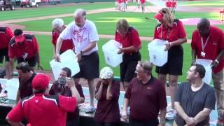 St. Louis Cardinals Area Manager ALS Ice Bucket Challenge 8/31/2014