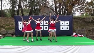 きみともキャンディ 2017.12.23 ライブステージ1部 丸亀城クリスマスフ...