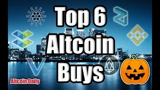 TOP 6 ALTCOINS TO BUY DURING OCTOBER!!! Top Cryptocurrencies to Invest in Q4 2018! [Bitcoin News]