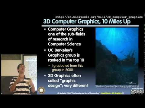 UC Berkeley CS10 Fall 2010 Lecture 2 : 3D Graphics (1080p HD)