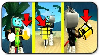 How Overpowered Are The C4, Jack Hammer And The Golden Spoon - Roblox Treasure Hunt Simulator