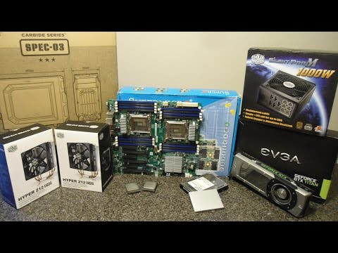 Ultimate Video Editing Scientific Computing PC Build GTX Titan