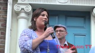 Protest at cuts to Special Needs Assistants and resources, Dail Eireann 26th June 2013