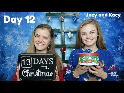 Christmas Countdown 2017 ~ Day 12 ~ Jacy and Kacy