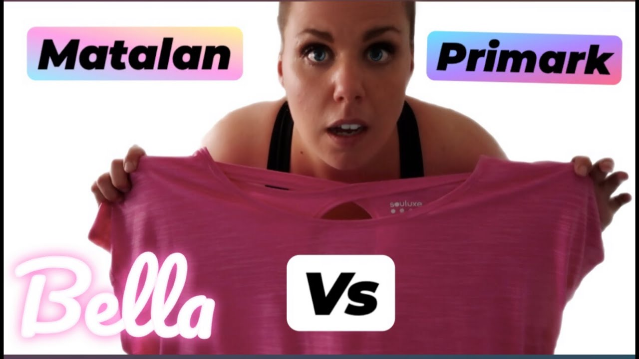 Plus Size Try On Clothing Haul Uk 22 24 Workout Clothes Matalan Vs Primark August 2020 Youtube