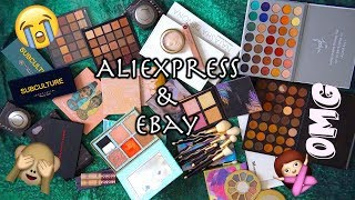 Zakupy z AliExpress i Ebay-a | MEGA Wielki Haul! | Kosmetyki z Chin | Mizia