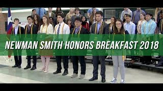 Congrats to Our Senior Graduates | Newman Smith Honors Breakfast