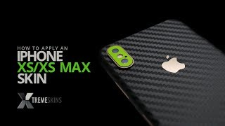 How to apply an iPhone XS/XS Max skin | XtremeSkins