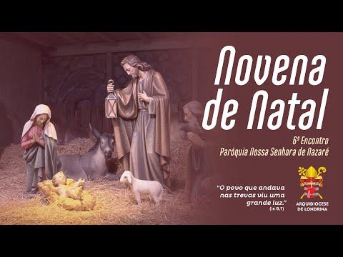 NOVENA DE NATAL ON-LINE - SEXTO DIA