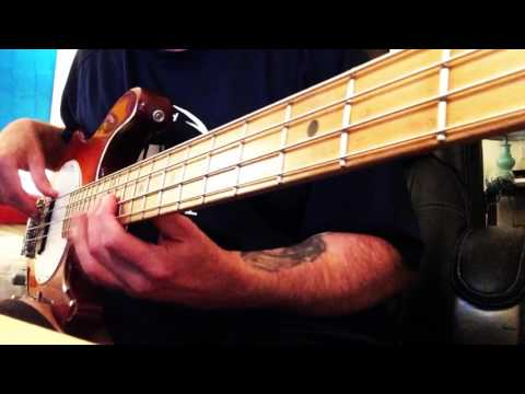 """""""WILD NIGHT"""" by John Mellencamp & Me'shell Ndegeocello BASS GUITAR COVER Boosted"""