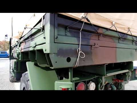 1998 M1078 4x4 Military Stewart Stevenson Cargo Truck C&C Equipment