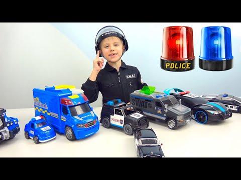 МАШИНКИ для детей и Полицейский Даник - Интересные серии подряд про Машинки