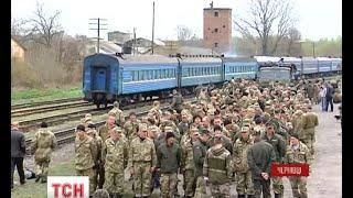 400 військовослужбовців 80 аеромобільної вирушили у зону АТО з Буковини