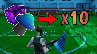 Consume 10 units of fruit, mushrooms or glitch objects - Fortnite Smash Challenges