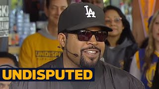 Ice Cube on Golden State