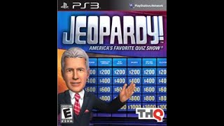 PS3 Jeopardy! ORIGINAL RUN Game #1
