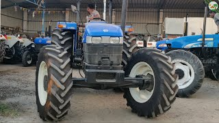 Daily Routine work in Tractor Showroom | New Holland Tractor Dealer Come To Village