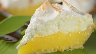 Lemon Meringue Pie Recipe Demonstration - Joyofbaking.com