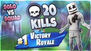 DEAGLE zu OP?!   20 KILL Solo vs Squad   Fortnite Battle Royale