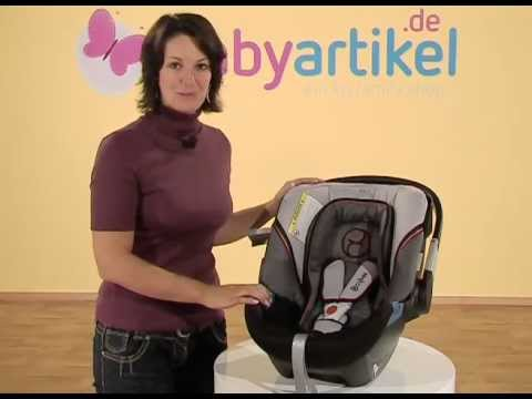 cybex aton 2 babyschale gr 0 youtube. Black Bedroom Furniture Sets. Home Design Ideas