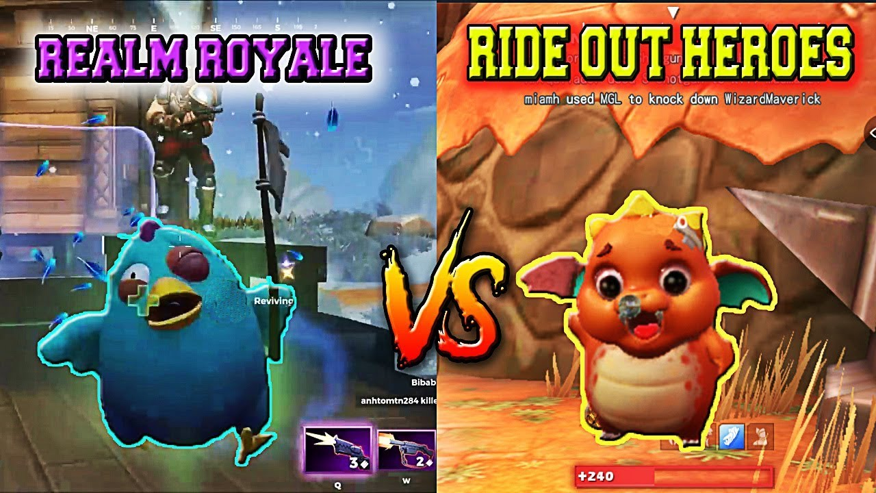 Realm Royale Vs Ride Out Heroes Battle Royale Games Pc Android