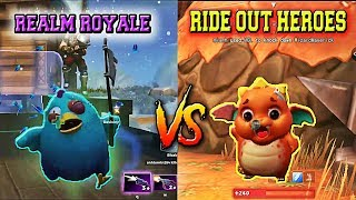 Realm Royale vs Ride Out Heroes Battle Royale Games ( PC Android )