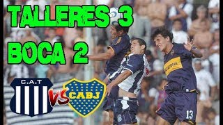 Talleres vs Boca  - (Cancha de Racing CBA)