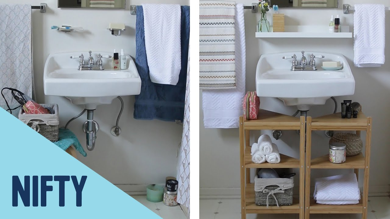 How To Add Space To A Small Bathroom