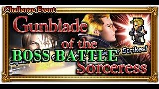 [FFRK] FFVIII Gunblade of the Sorceress - Seifer | Lunatic Pandora, Part 3 Battle #96