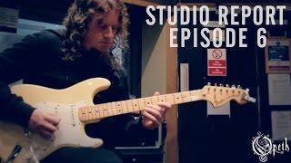 OPETH - Sorceress: Studio Report - Episode 6: Guitar Recordings Fredrik