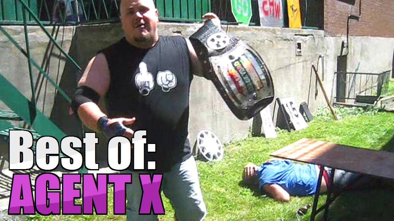 Best of Agent X - CHW Backyard Wrestling - YouTube