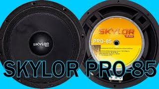 Автомобильная акустика SKYLOR PRO 85, распаковка, обзор, прослушка, сравнение
