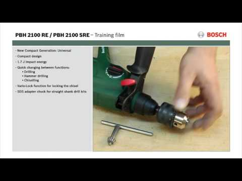 Geliefde Features of: PBH 2100 RE/SRE Rotary Hammer Drill - YouTube HT16
