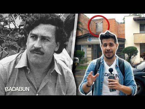 Visité el lugar donde mataron a Pablo Escobar