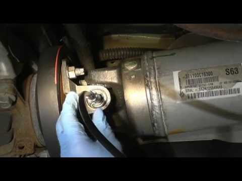How to grease drive shaft on toyota and lexus vehicles - YouTube