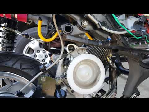 How to Tune GY6 Carburetor Idle and Idle Mixture Screw 11 of 12