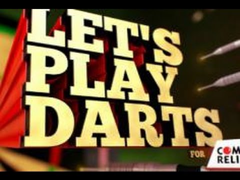Let's Play Darts for Comic Relief Season 2  -  Episode 122/02/2016