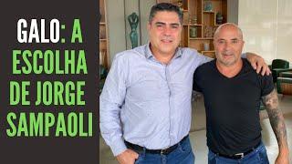 Sampaoli escolhe o Galo, fere orgulho de alguns palmeirenses, mas a opção do argentino faz sentido