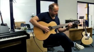 Cort CEC7 and AF60 Soundcheck played by Ralf Sommerfeld