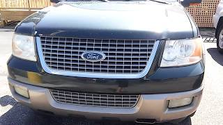 2003 Ford Expedition Eddie Bauer Startup and Review